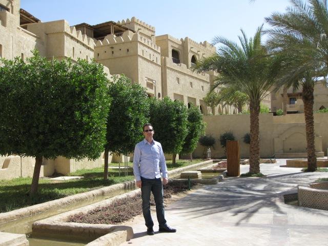 Dan in the resort