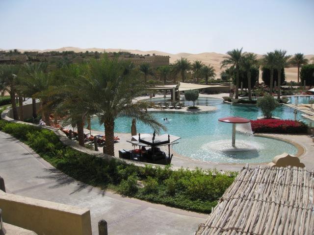 Pool at Qasr al Sarab