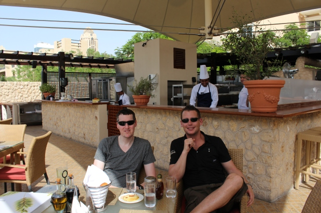 Patio Lunch in Dubai