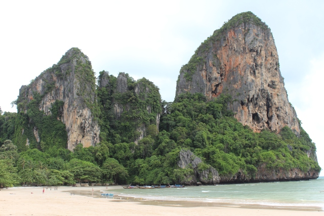 Cliffs of Railay Beach