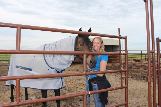 Paige and her horse