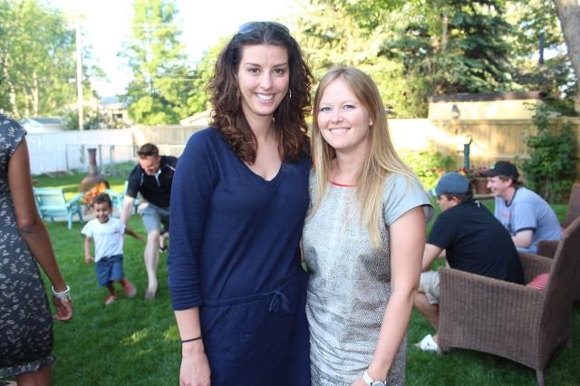 Megan and Rebecca