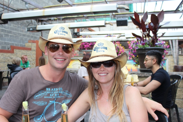 Dan and Becca on 17th