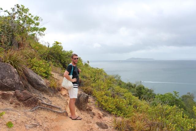 Dan on the hike