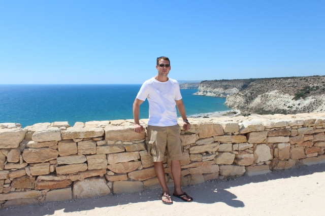 Dan at Kourion ancient site
