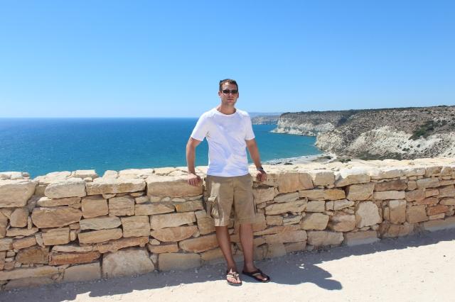 Dan at Kourion ancient site