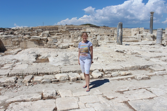 Becca in the Roman Agora