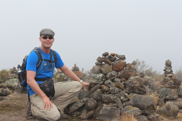 Dan on Shira Ridge