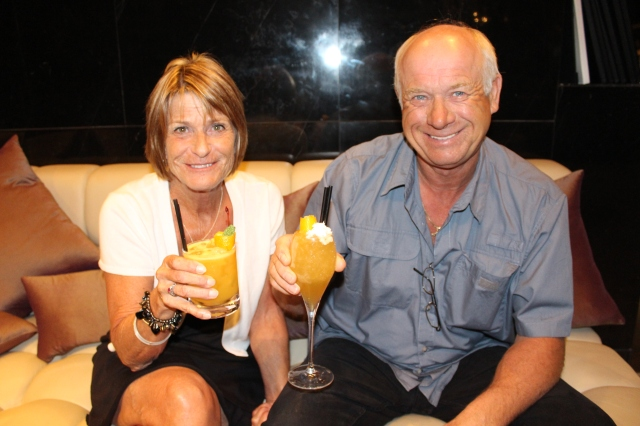 The Birthday Girl and Vern.  Cheers!
