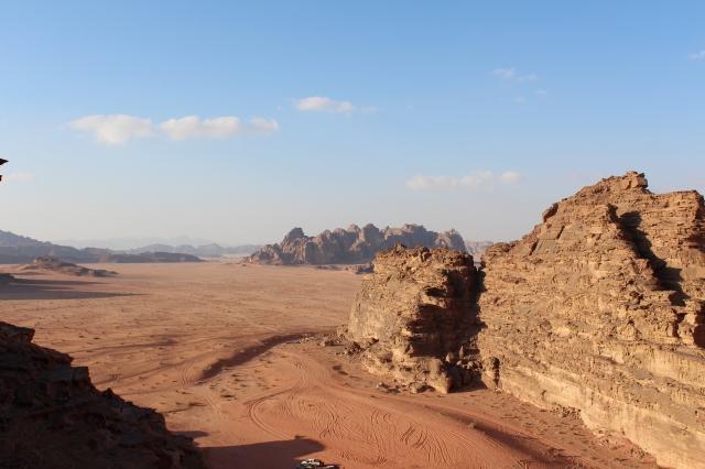 View of Wadi Rum Desert