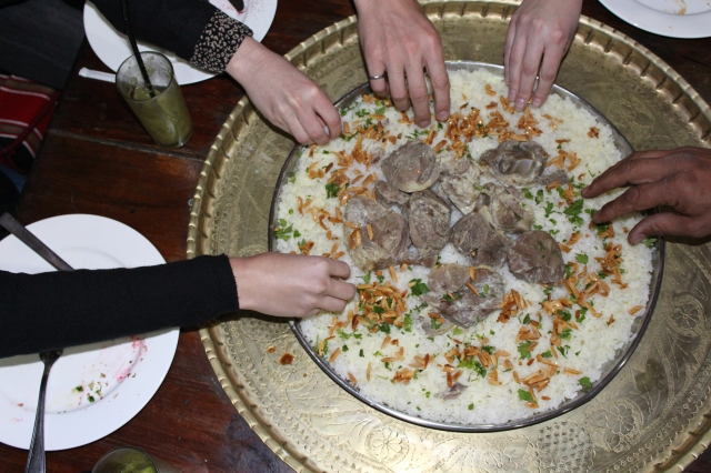 Let's eat some Mansaf