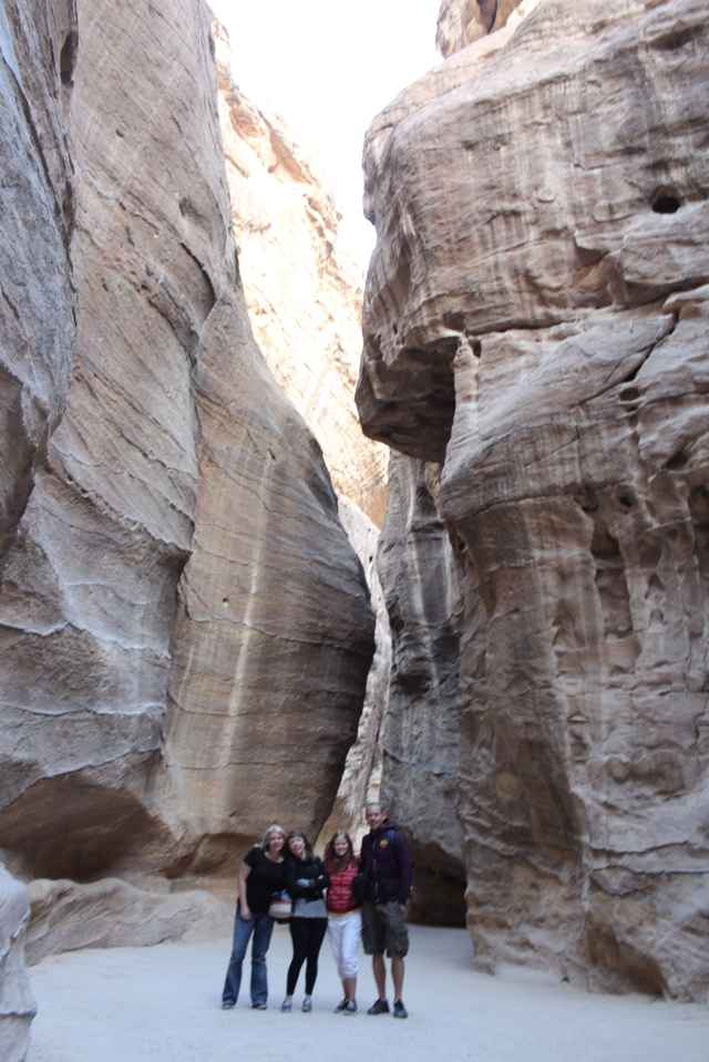 The tour of Petra starts here