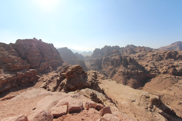 View from Petra