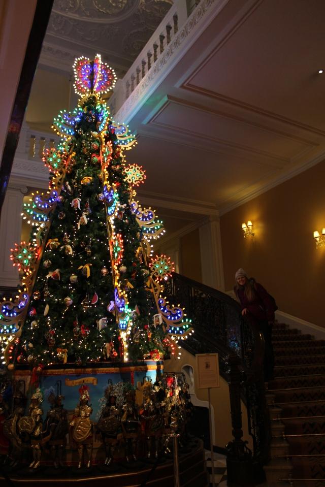 D&G tree at Claridges