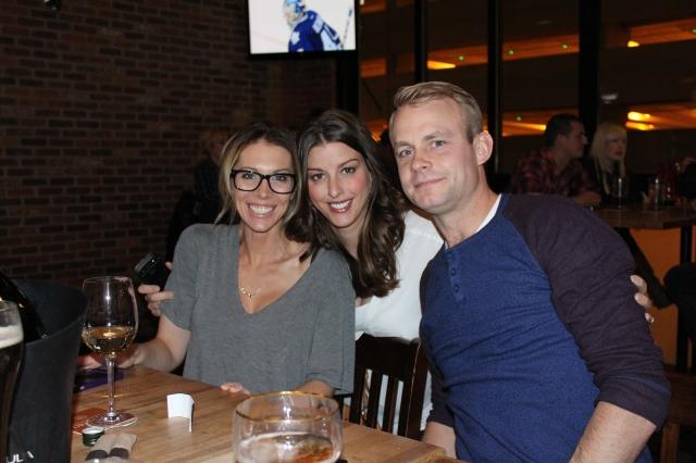 Tasha, Megan, and Scott at Craft Beer Market