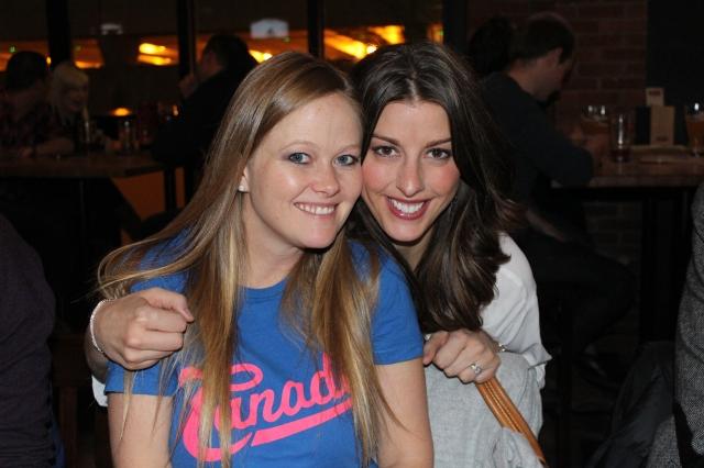 Rebecca and Megan
