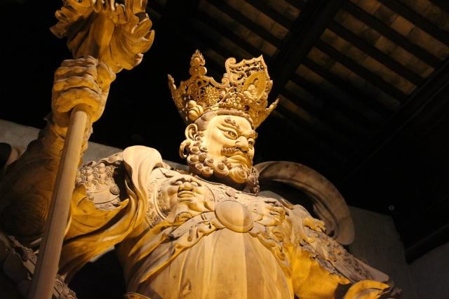 Inside Lingyun Temple