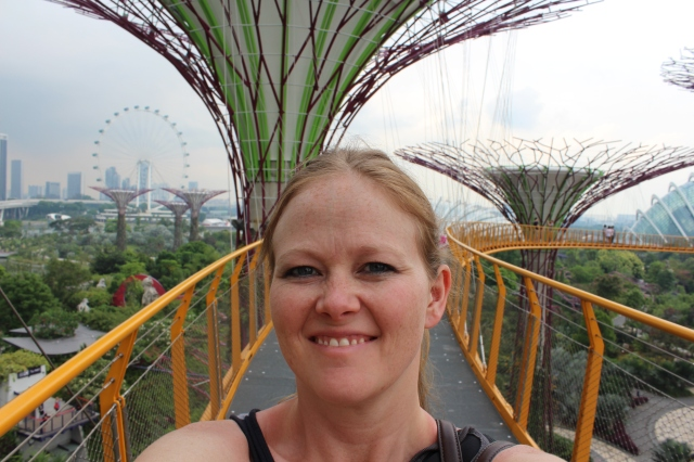 Selfie at Gardens by the Bay