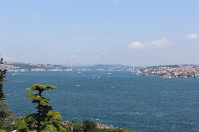 View of the Bosphorus from Topkapi Palace