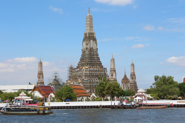Wat Arun from our hotel