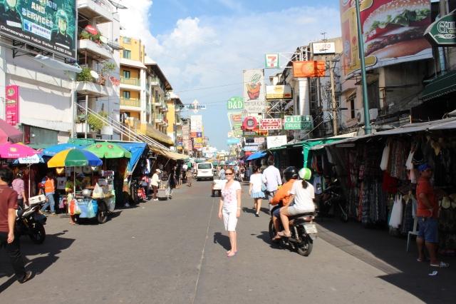Rebecca on Khao San Road