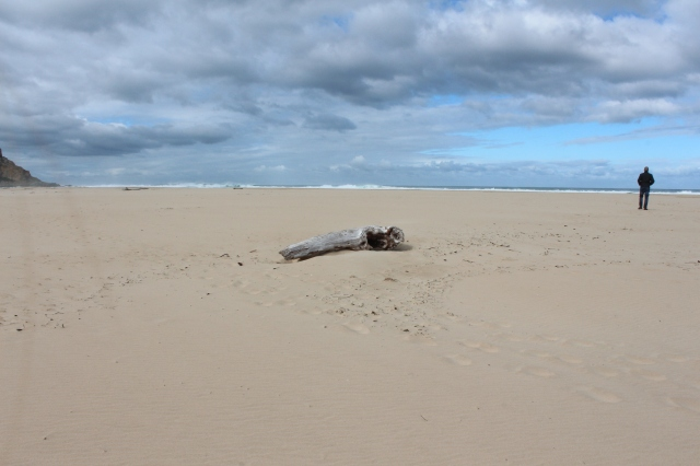 Deserted beach at Nature's Valley in Tsiskamma National Park