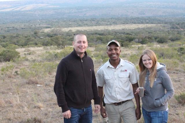 Dan, Vuyani, and Becca