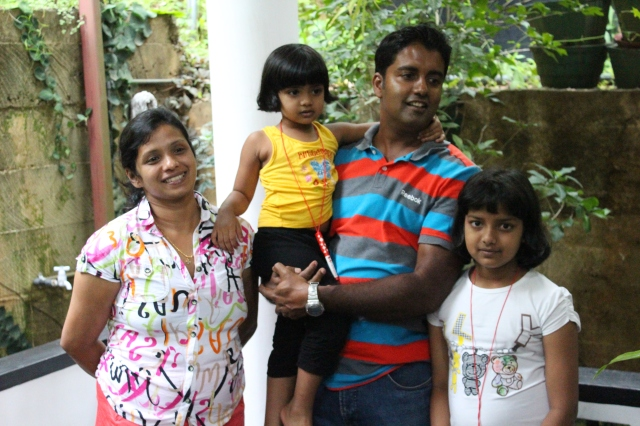 Jagath and his girls