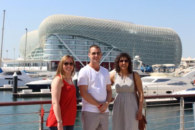 Dan's driving tour to Yas Marina