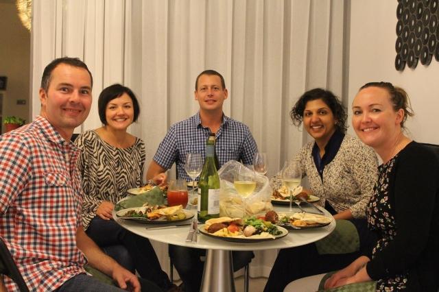 Lebanese Flower Feast with Friends