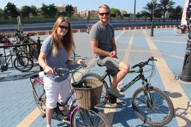 Bike ride along the Corniche