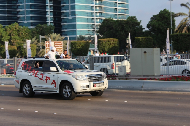 Decorated Vehicles for National Day