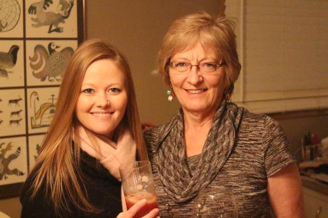 Mom and I at Judy's