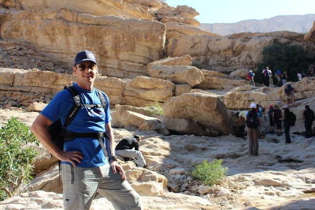 Dan in a wadi