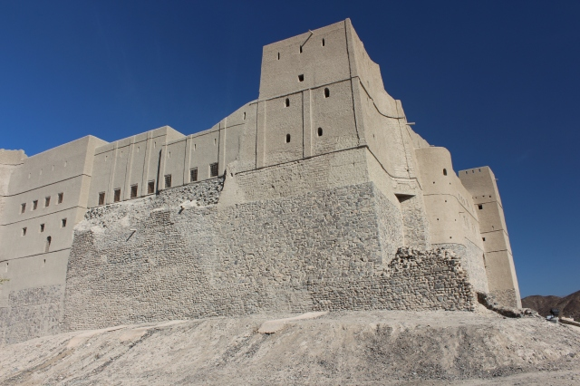 The Citadel of Bahla Fort from the outside
