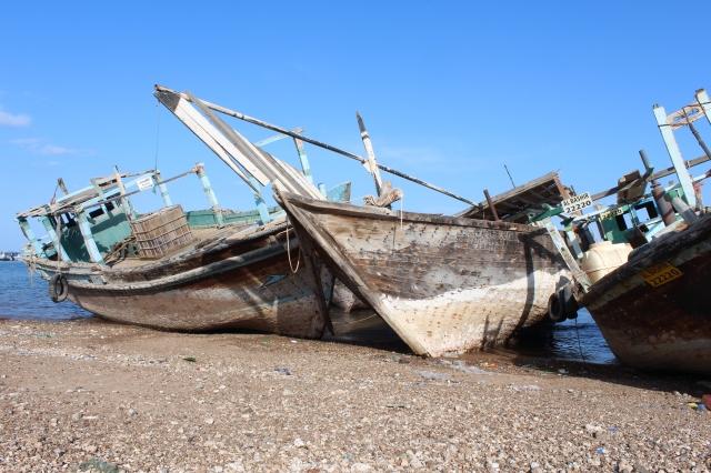 Fishing boats of yore