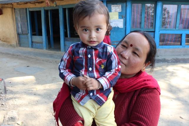 Handsome little guy in Bahundanda