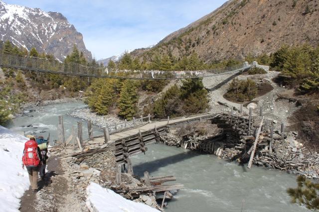 Scary looking bridge
