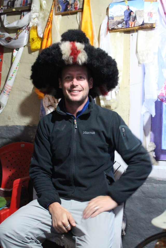 Traditional yak wool hat