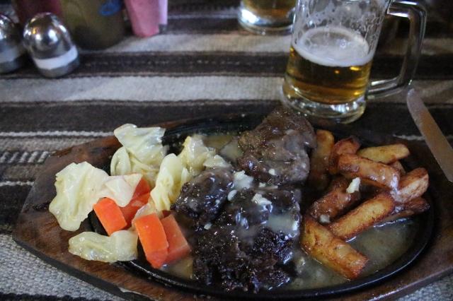 Yak steak