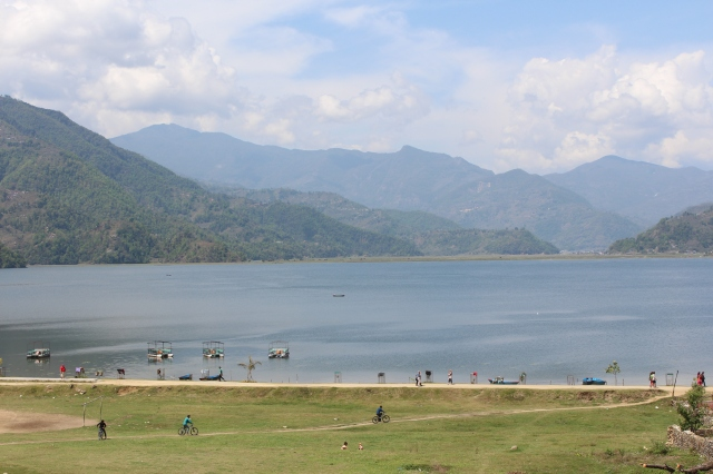 Phewa Lake from the hotel