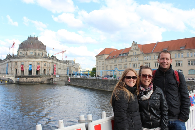 Walking on the River Spree