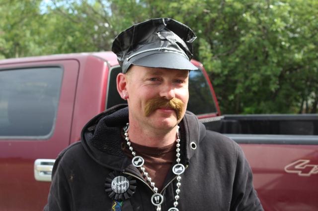 Nice moustache Kev!