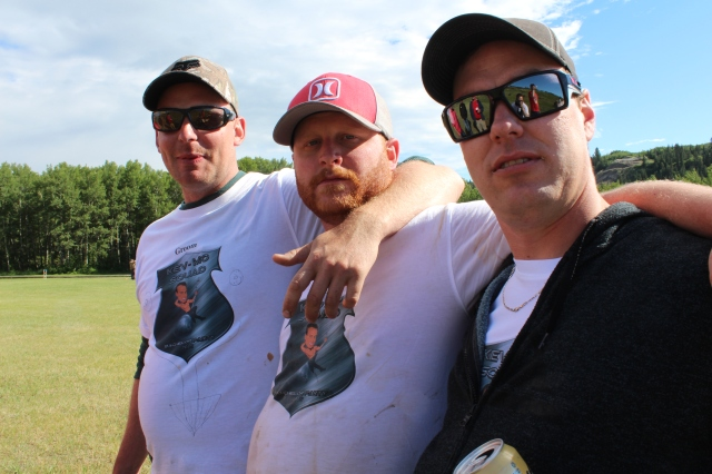 Kev, Dustin, and Curtis