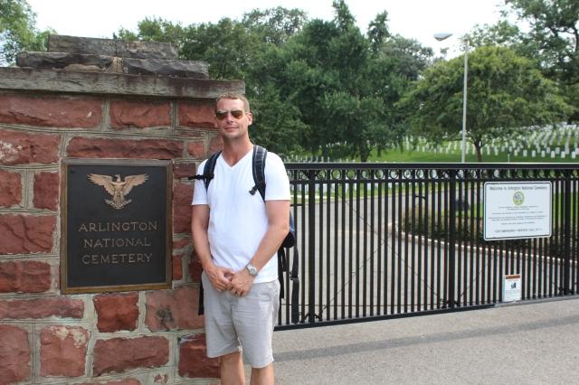 Dan at Arlington National Cemetary