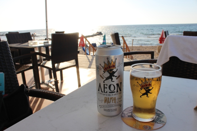Thirst quenching Cypriot lager