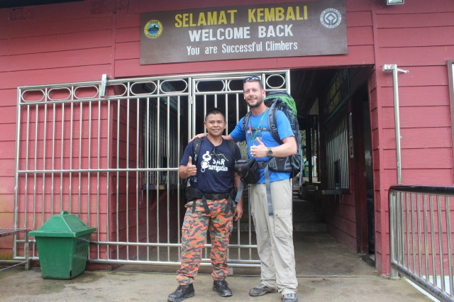Mount Kinabalu trek complete