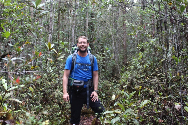 Dan deep in the heath forest of the southern plateau