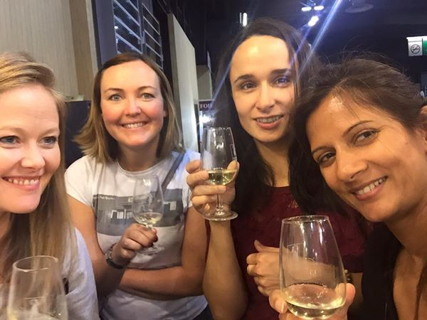 The Girls at the Wine Expo
