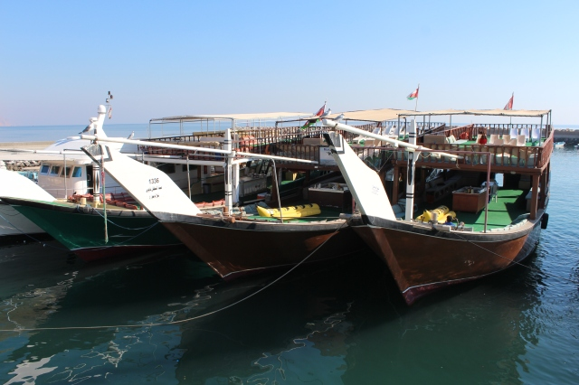Dhow Boats in the Harbour